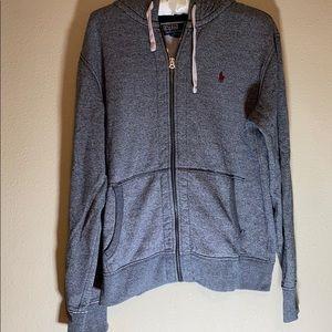 Polo By Ralph Lauren Hooded Zip-Up Sweatshirt